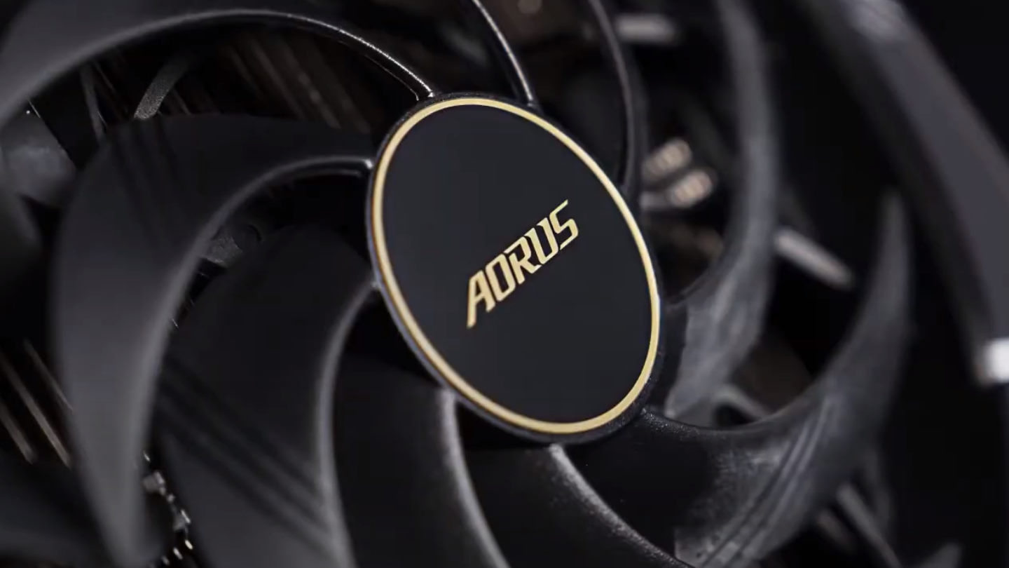 Gigabyte Aorus RTX 3090 Graphics Card WindForce Cooling Fans