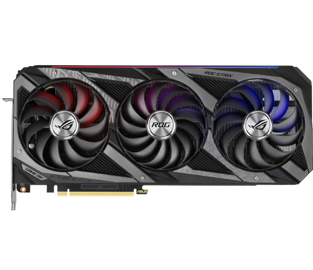 Picture of ROG RTX 3090 cooler