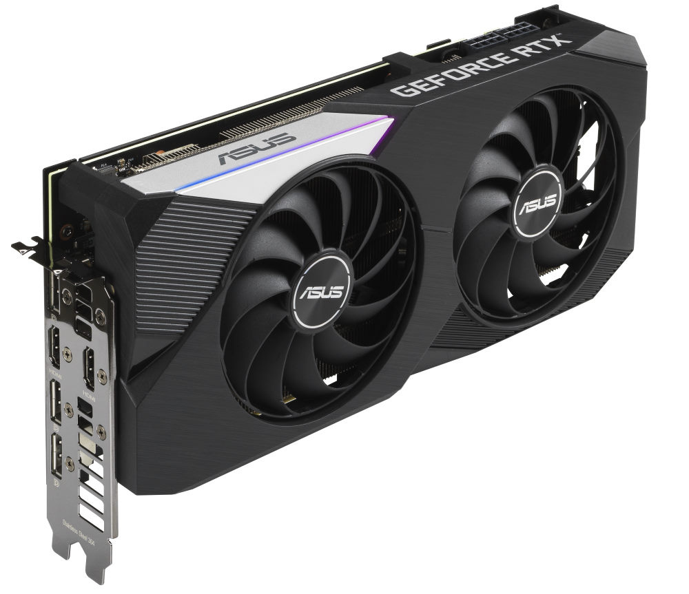 Picture of Asus DUAL RTX 3070 outputs
