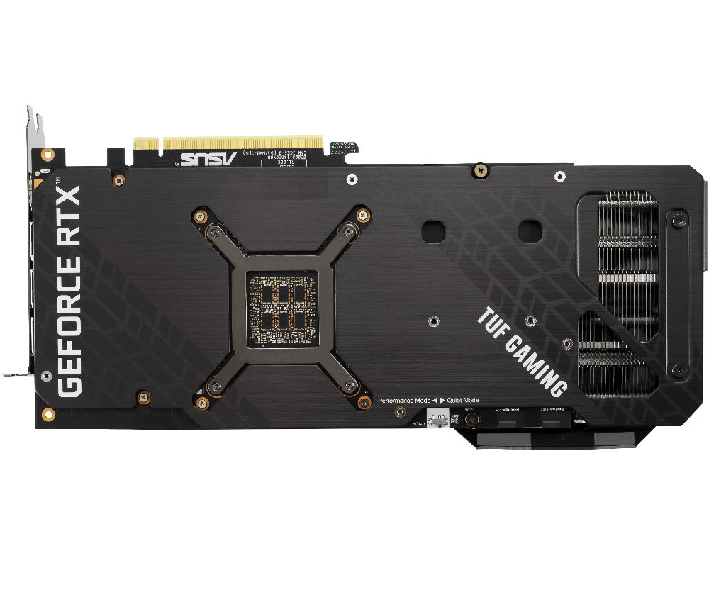 Picture of RTX 3080 TUF backplate