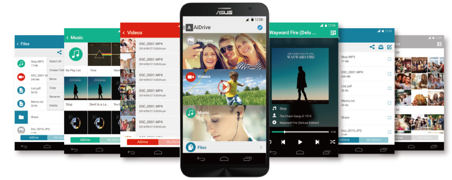 AiDrive APP to access files