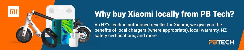 Benefits of buying Xiaomi from PB Tech