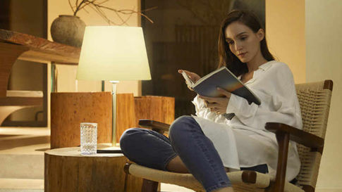 Smart lights for reading a book