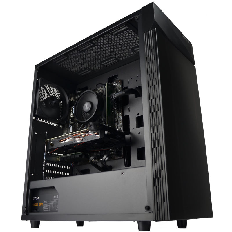 Picture of Gigabyte C200 gaming PC build
