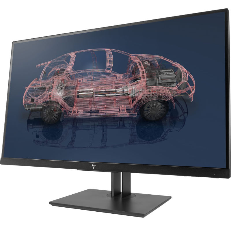 Picture of HP monitor for graphics design and CAD work