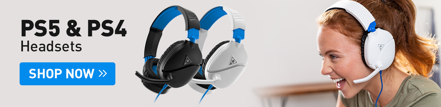 Turtle Beach PS5 Gaming Headsets at PB Tech