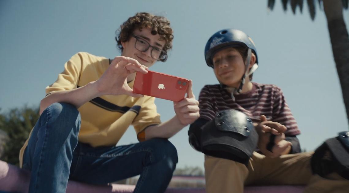 iPhone 12 capture at edit movies