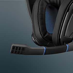 GSP 300 Microphone closeup