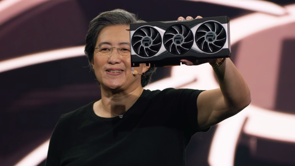 The full AMD RX 6900 XT graphics cards