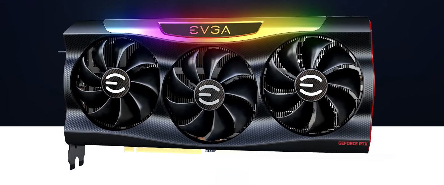 Picture of RTX 3070 graphics card at PB Tech