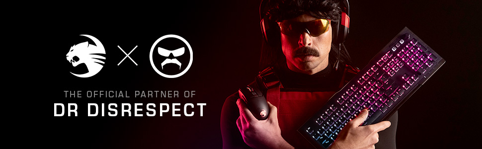 gaming mouse, PC gaming, ROCCAT, Turtle Beach, Dr Disrespect