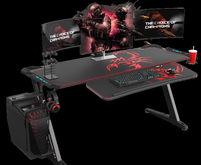 Eureka Z60 Gaming Desk - PC Gaming Desk