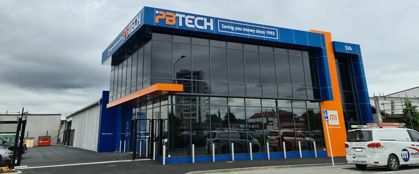 Picture of New PB Tech Store in Christchurch Central