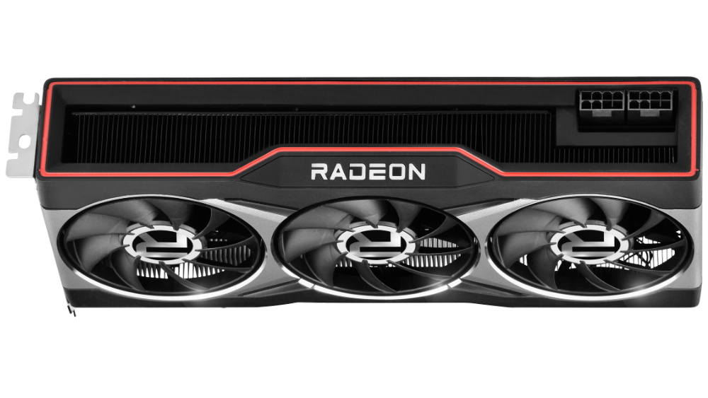 Picture of Radeon RX 6800 power inputs