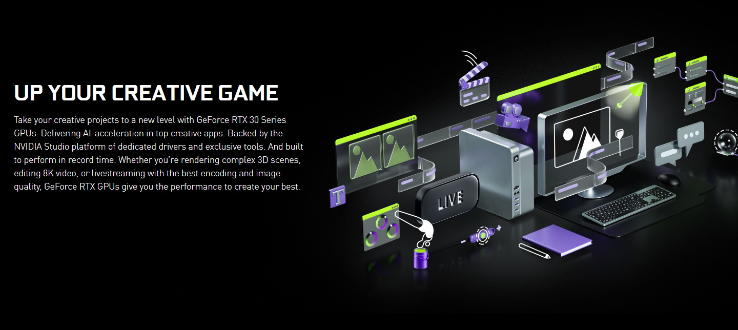 Picture of Nvidia Creative Game