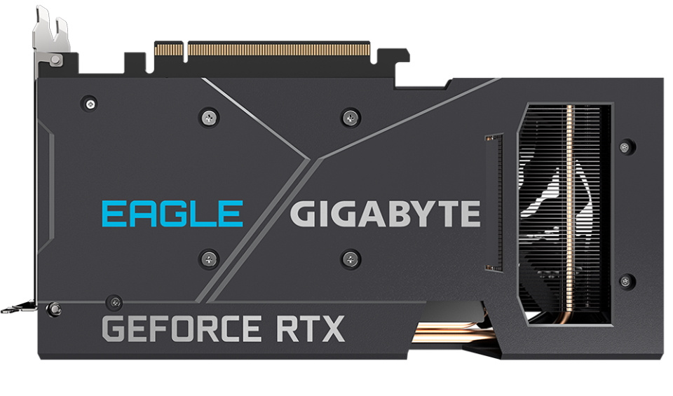 Picture of RTX 3060 Ti EAGLE Backplate