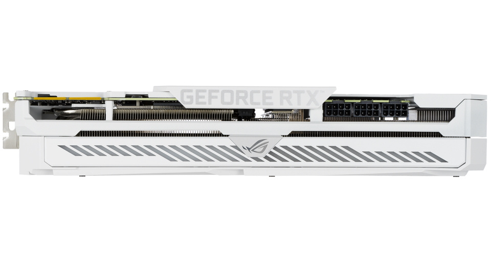 Asus ROG white RTX 3090 graphics card