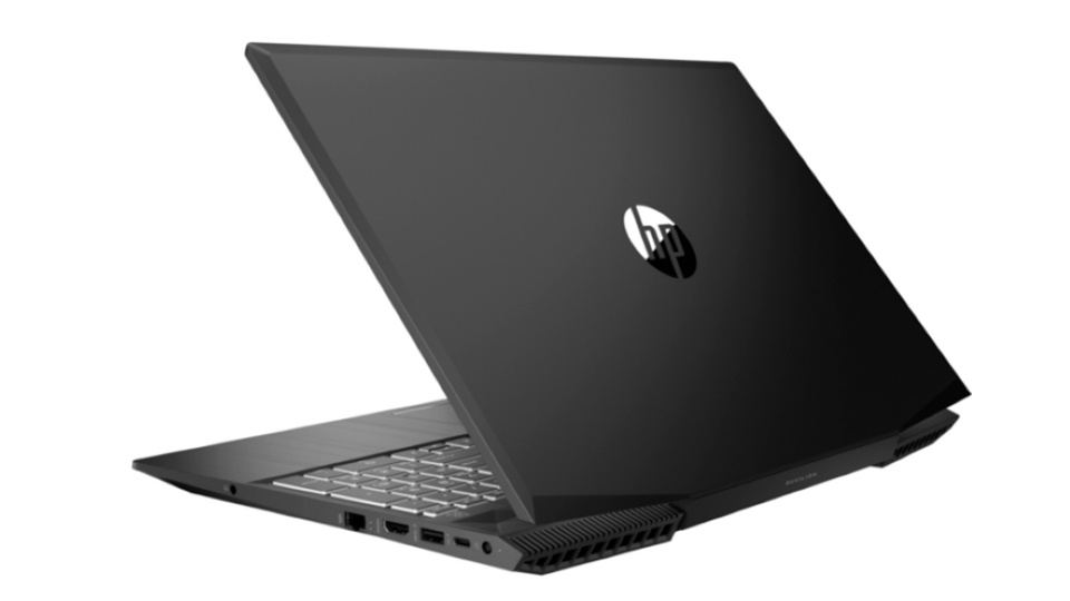 Picture of HP Pavilion 15 Gaming Laptop rear