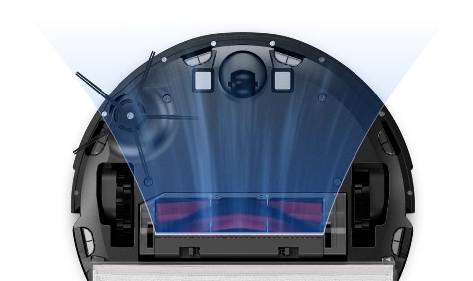S6 MaxV's suction power