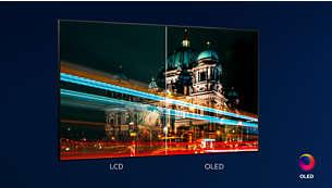 Philips OLED TV. This is what lifelike feels like.