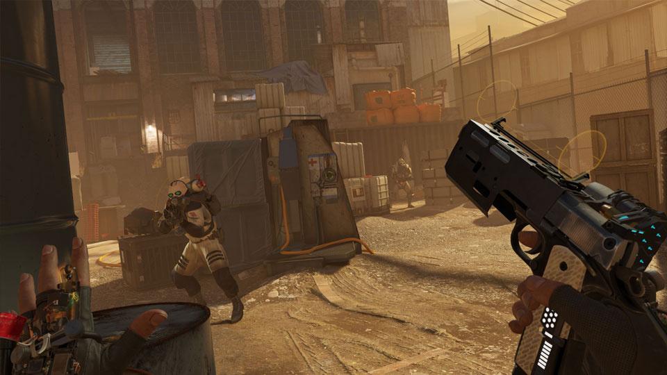 Screenshot from Half Life: Alyx