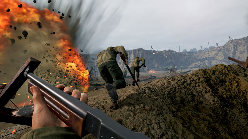 Screenshot from Medal of Honor: Above and Beyond