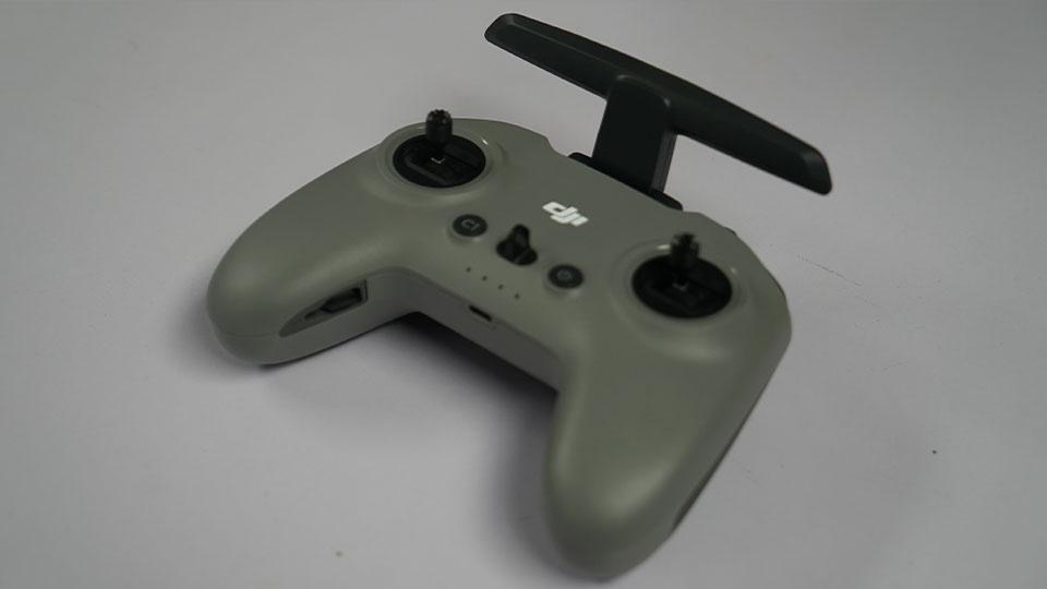 The controller face has a similar layout to previous DJI entries.