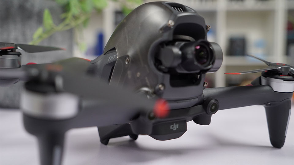 The gimbal, capable of filming some beautiful visuals.