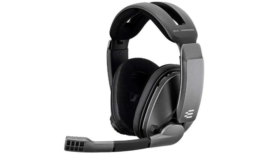 Picture of Sennheiser EPOS GSP 370 Wireless Gaming Headphones ready to game