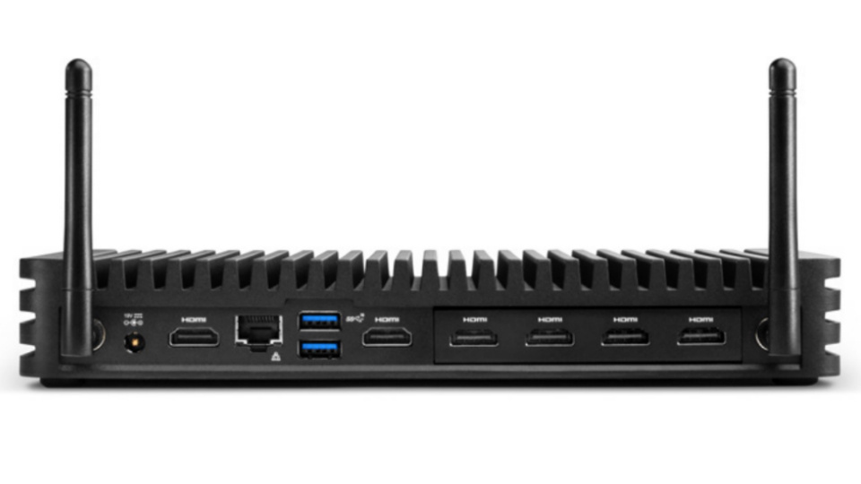 Picture of NUC Elements Rugged 4x HDMI chassis