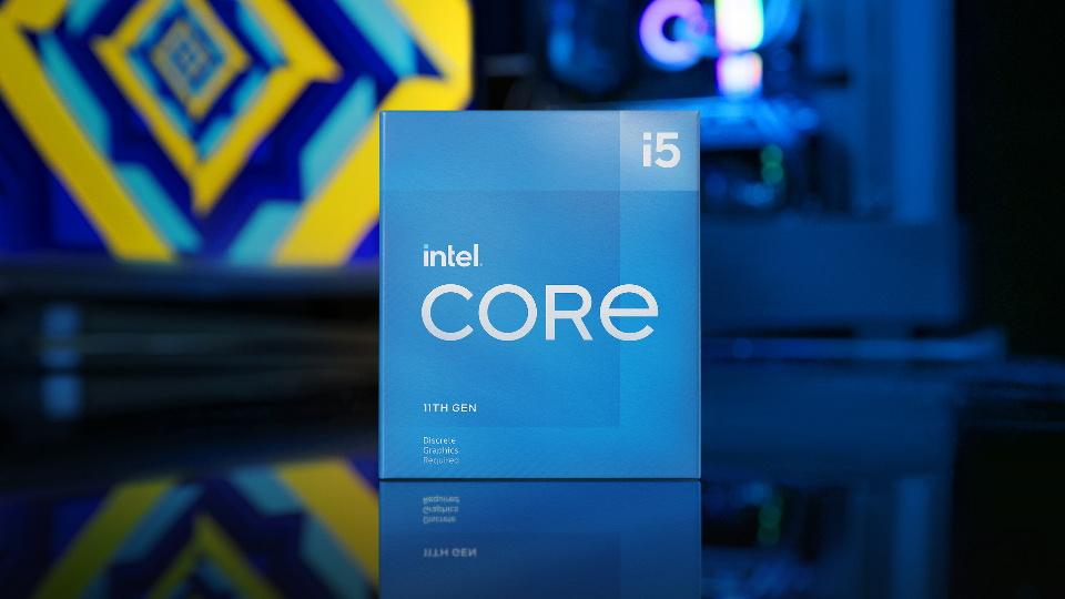 Picture of Intel 11th Gen i5 CPU at PB Tech NZ
