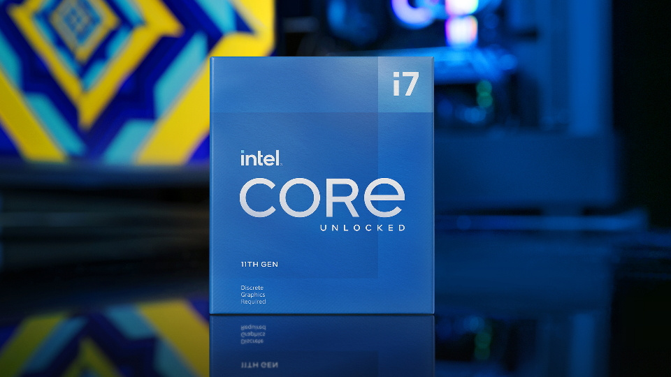Picture of Intel 11th Gen i7 CPU at PB Tech NZ