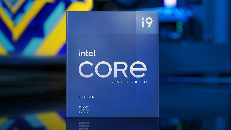 Picture of Intel 11th Gen i9 CPU at PB Tech NZ