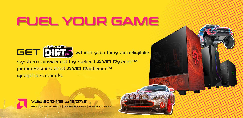 AMD Fuel Your Game AMD Ryzen + Radeon