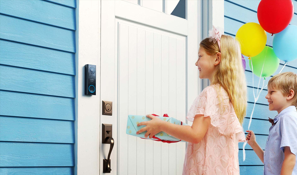 See who's at your doorstep in crystal clarity.