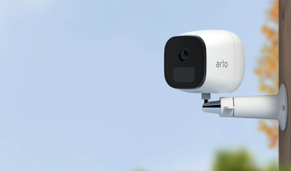 A smart camera outdoors.