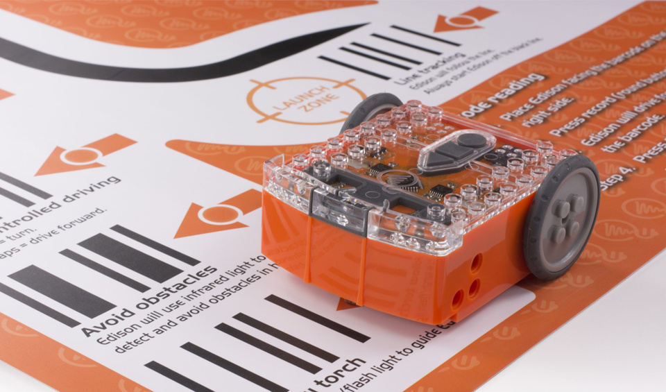 Meet Edison – a super affordable and programmable robot.
