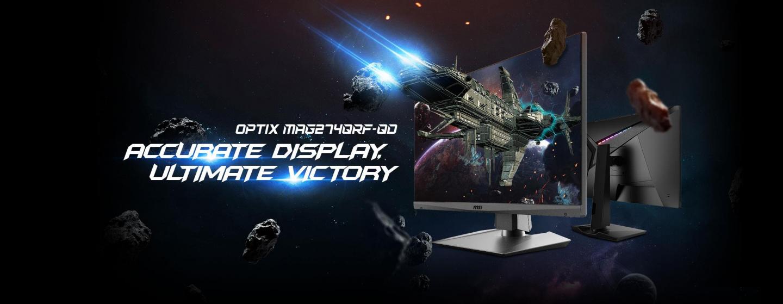 Buy the MSI Optix MAG274QRF-QD 27 QHD Rapid IPS Gaming