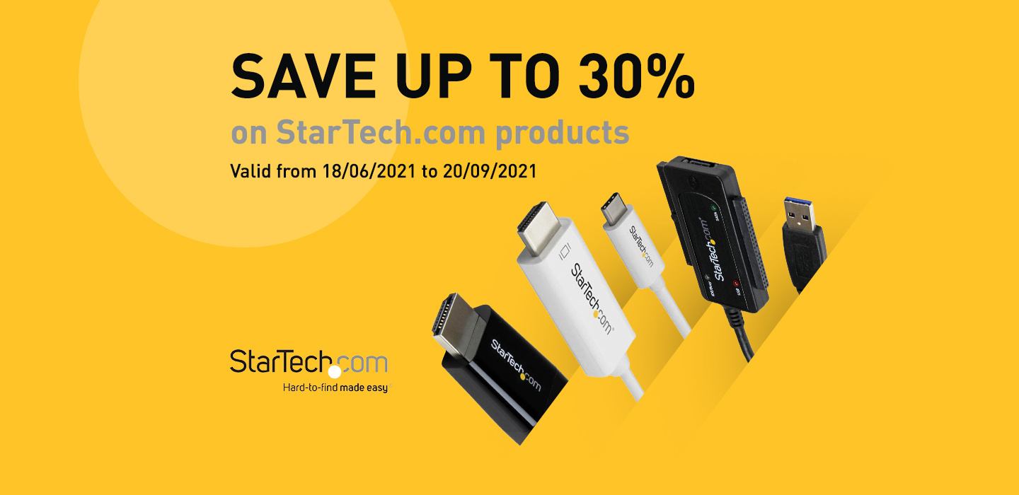 Save on StarTech.com products at PB Tech