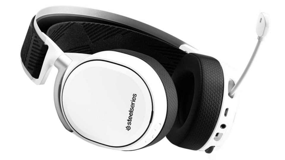 Picture of SteelSeries Arctis Pro Wireless Gaming Headset with mic out