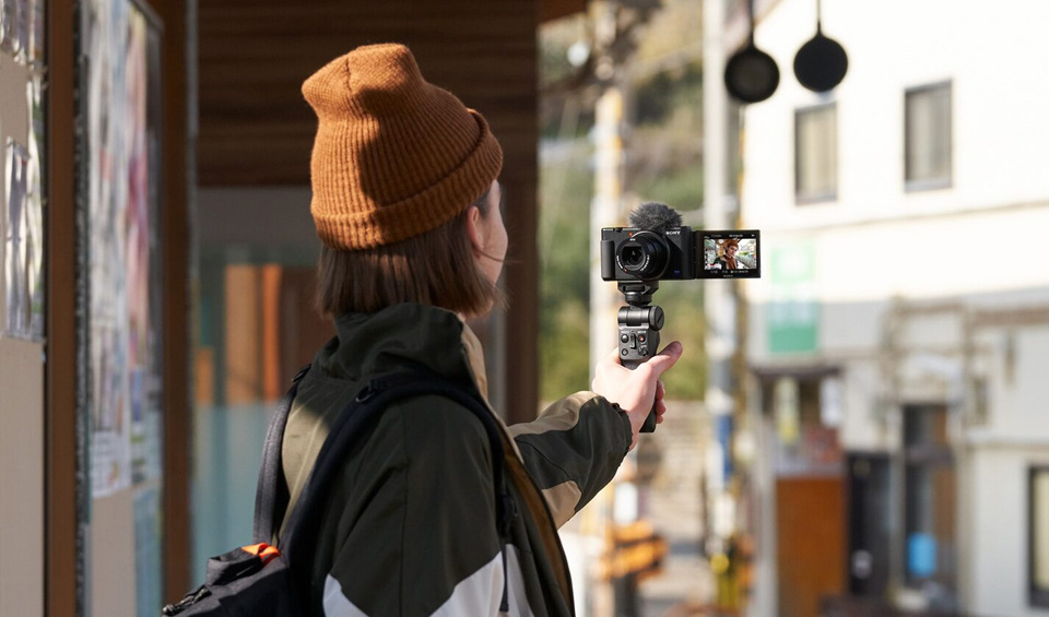 Sony ZV1 - Designed with vloggers in mind.