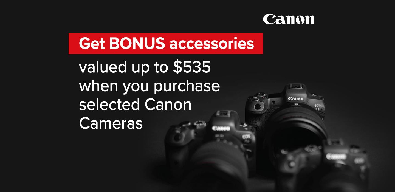 Canon Bonus Offer