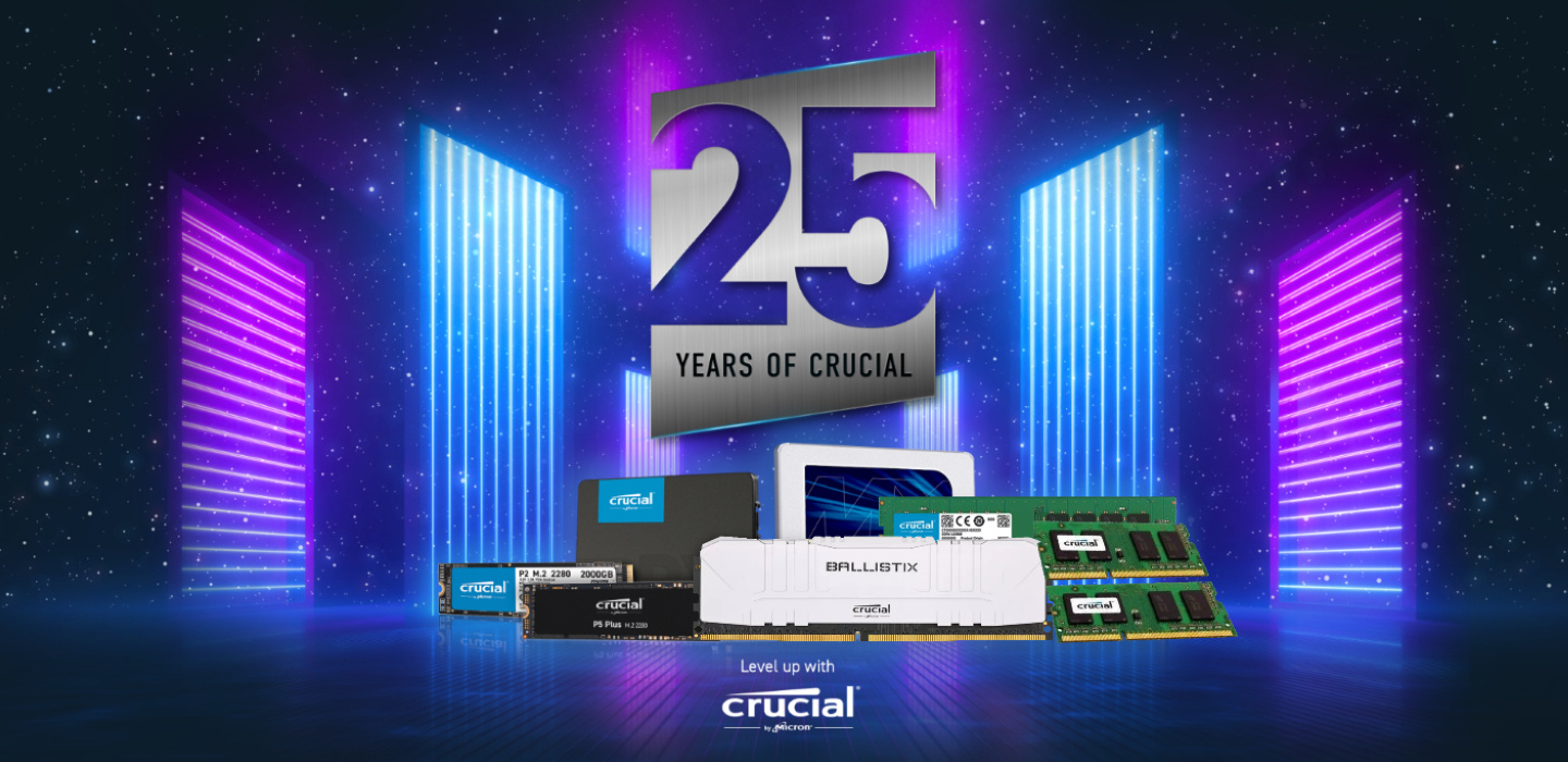 Picture of Crucial 25th Anniversary Event at PB Tech