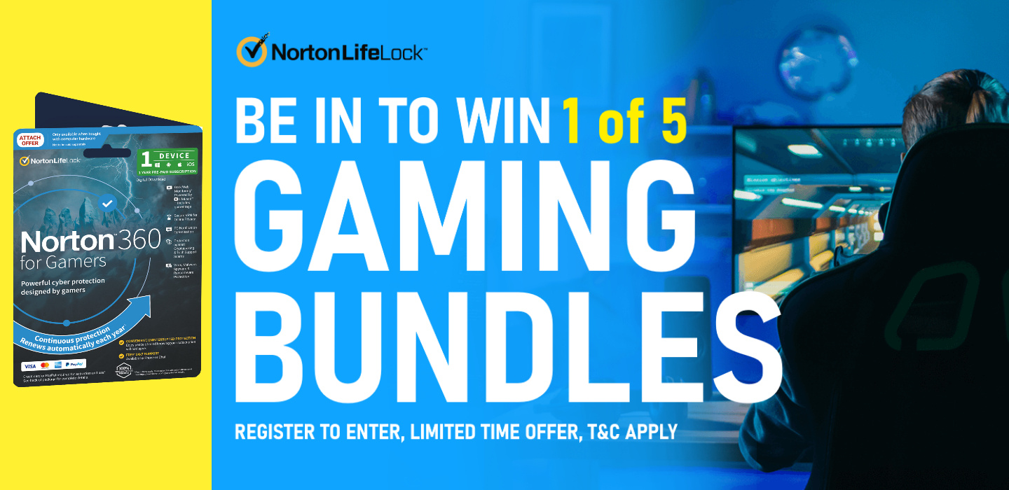 Picture of Norton 360 for Gamers Logitech G Prize Promotion