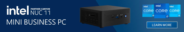 Picture of Intel 11th Gen NUC Performance Mini PC