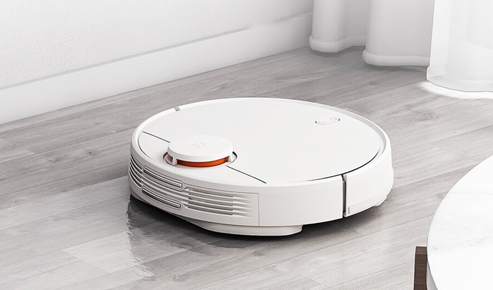 Different mopping modes let you choose the intensity of the clean.