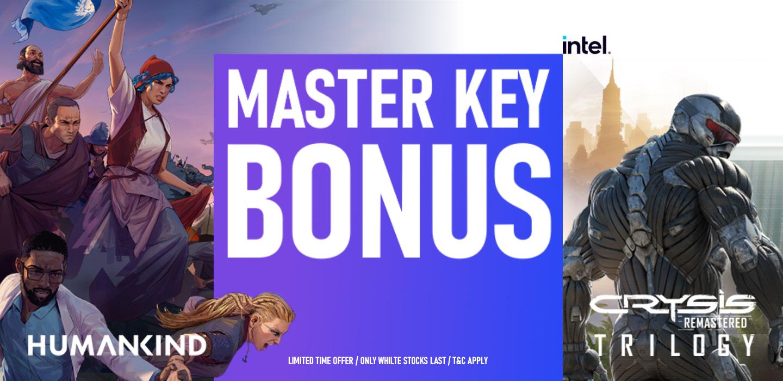 Picture of Intel Master Key Humankind + Crysis Game Bonus at PB Tech