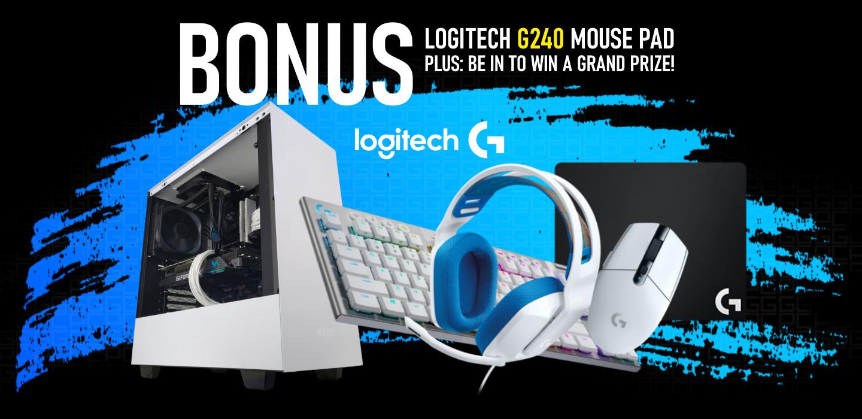 Picture of Good Gaming PC NZ Logitech G Bonus Offer at PB Tech
