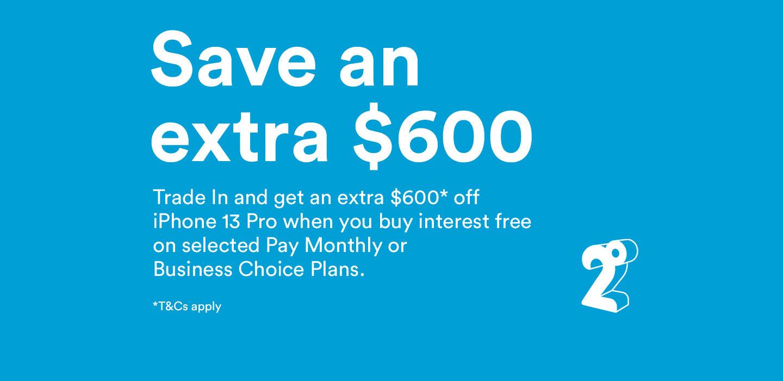 Save extra $600