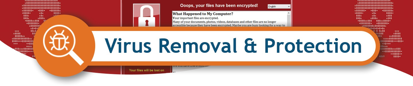 virus removal header